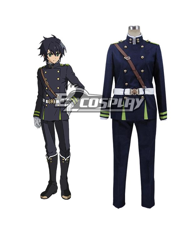 Seraph of the End Vampire Reign Owari no Serafu Yuichiro Hyakuya Hyakuya Yuichiro Uniform Cosplay Costume