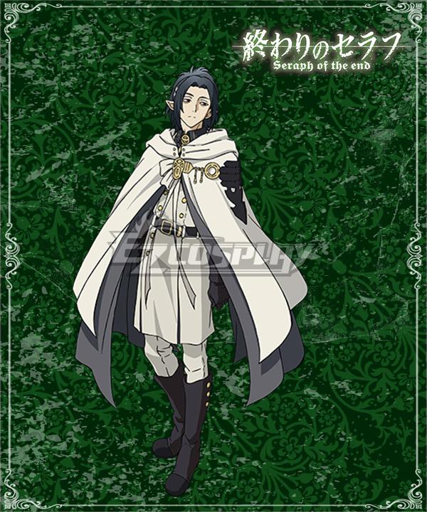 Seraph of the End Vampire Reign Owari no Serafu Rene Simm Cosplay Costume