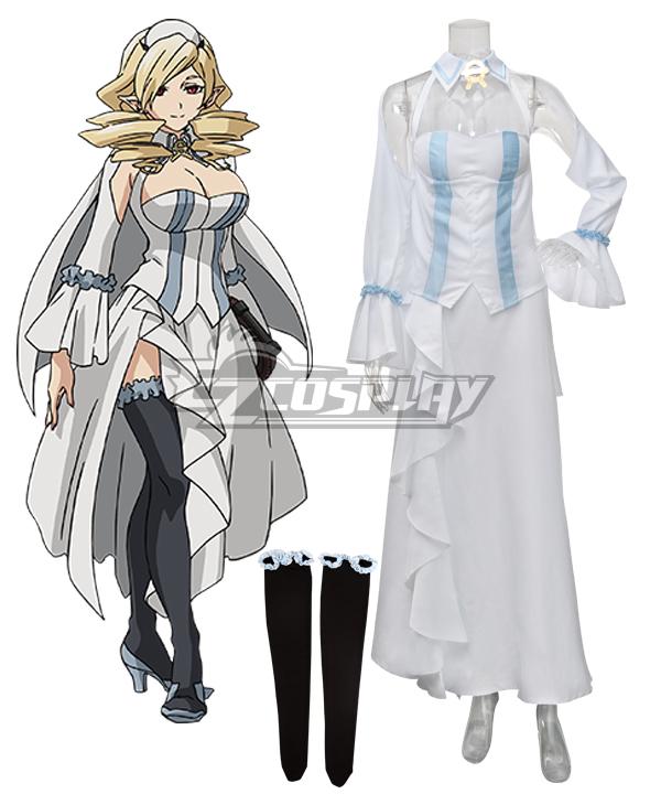 Seraph of the End Vampire Reign Owari no Serafu Horn Skuld Cosplay Costume