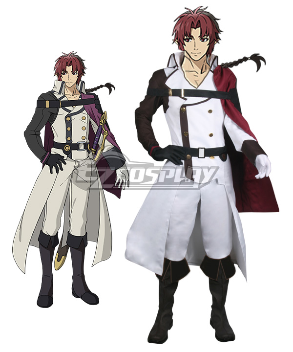 Seraph of the End Owari no Serafu Vampire Reign Vampire Reign Owari no Serafu Crowley Eusford Cosplay Costume None
