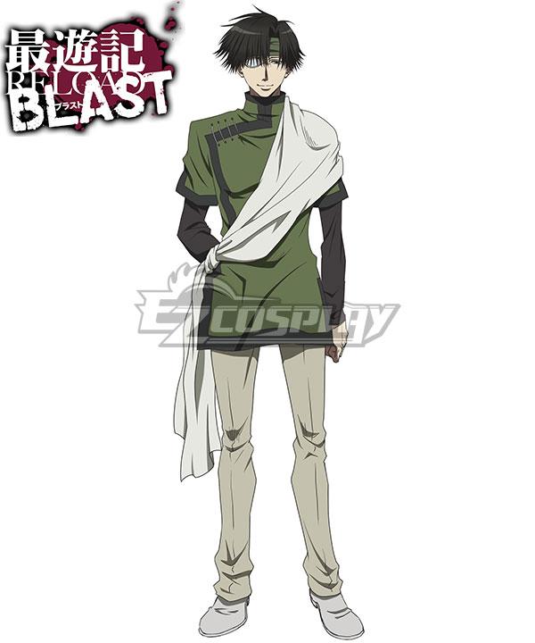 Anime Costumes ESRB004 Saiyuki Reload Blast Cho Hakkai Cosplay Costume