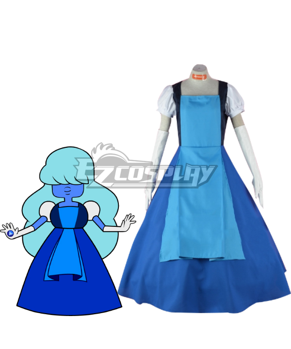 Steven Universe Sapphire Laughy Sapphy Ruby Cosplay Costume