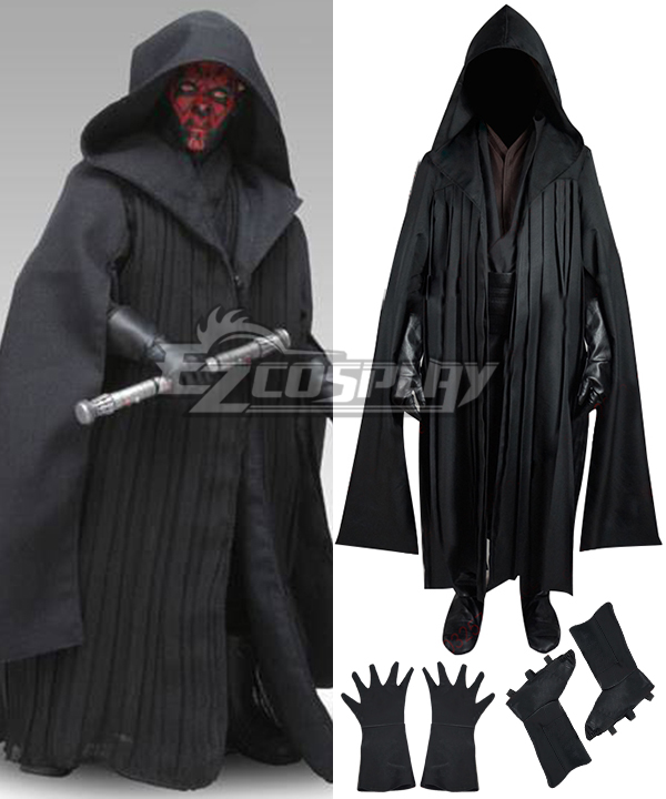 Star Wars Darth Maul Suit With Cloak Cosplay Costume
