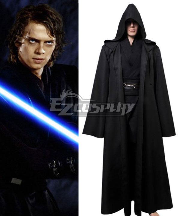Star Wars Jedi Knight Anakin Skywalker Darth Vader Cosplay Costume None
