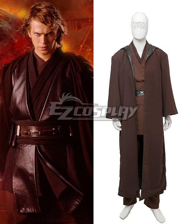 Star Wars Episode III: Revenge of the Sith Anakin Skywalker Darth Vader Cosplay Costume None
