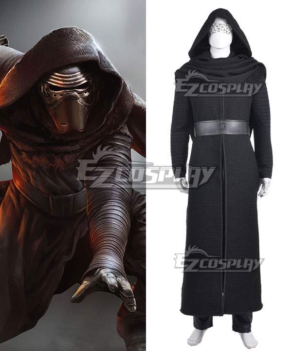 Star Wars VII The Force Awakens Kylo Ren Cosplay Costume None