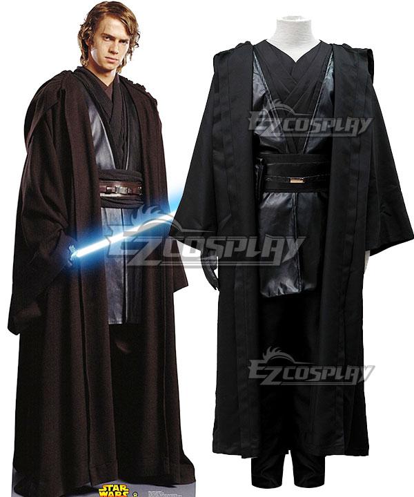 Star Wars Episode III Revenge of the Sith Anakin Skywalker Cosplay Costume None