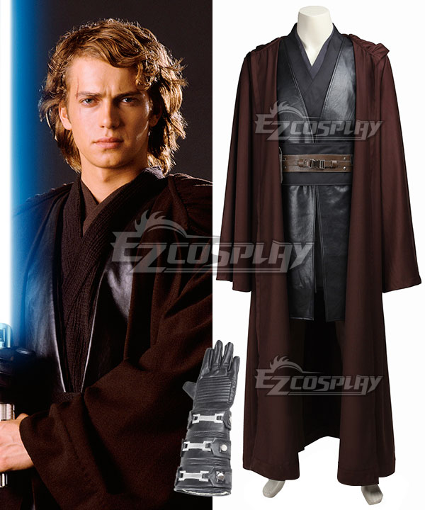 Star Wars Episode III Revenge of the Sith Anakin Skywalker Cosplay Costume None
