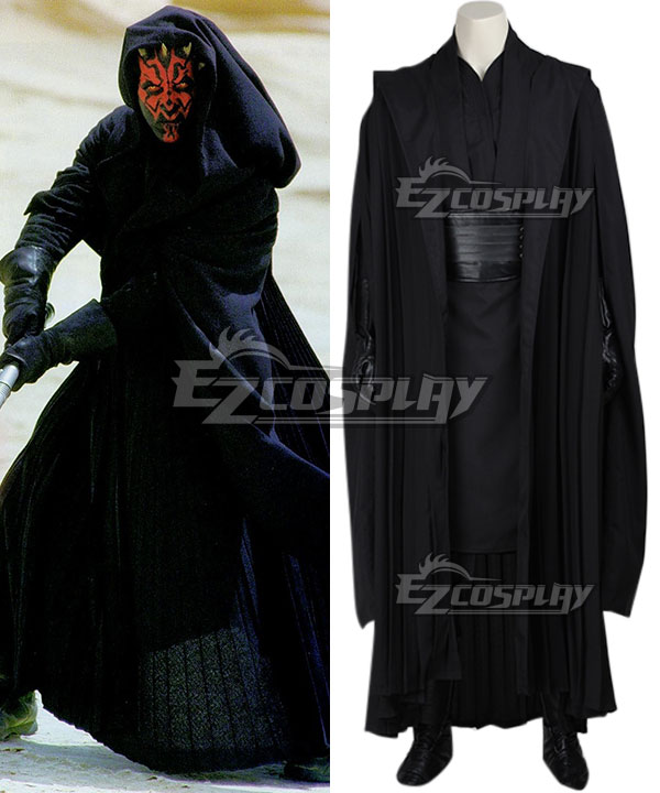 Star Wars Episode I The Phantom Menace Darth Maul Cosplay Costume None