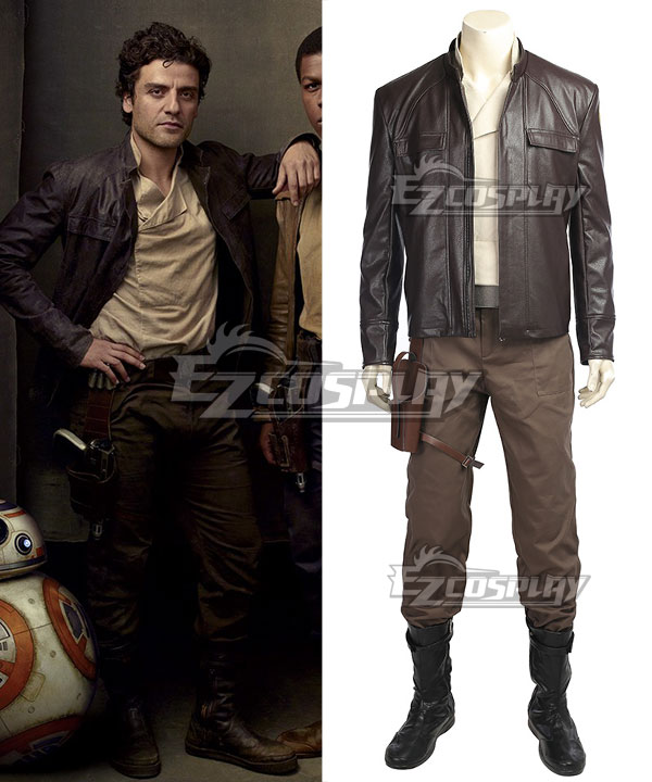 Star Wars: Episode VIII Poe Dameron Cosplay Costume None
