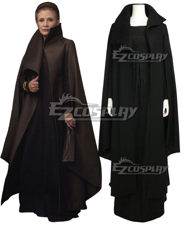 Star Wars The Last Jedi General Leia Organa Cosplay Costume None