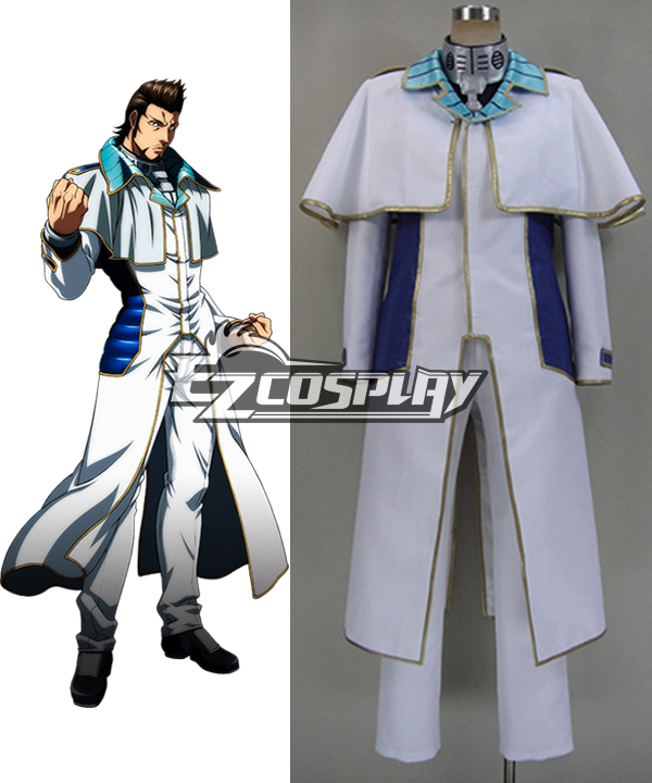 Terra Formars Akari Hizamaru Shokichi Komachi Cosplay Costume