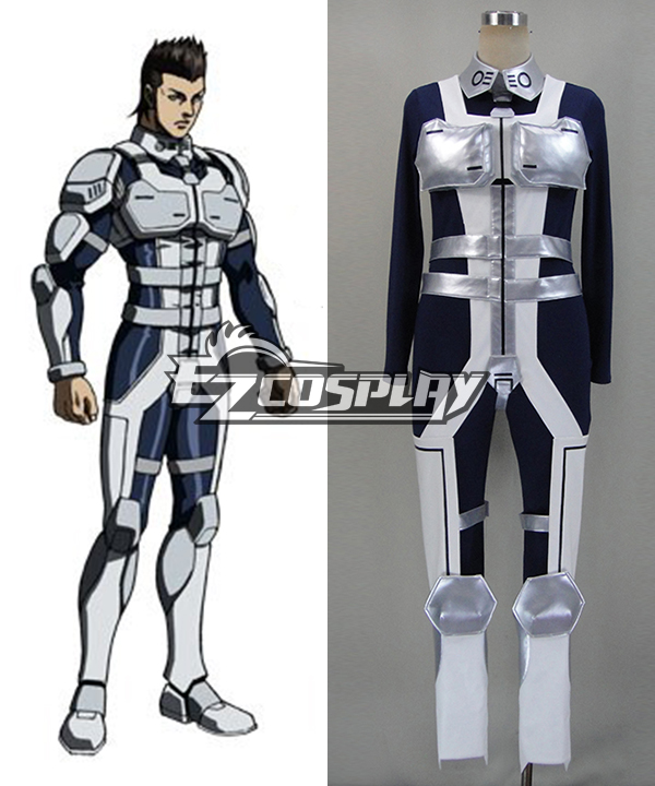Terra Formars Komachi Shou kichi Battle Suit Cosplay Costume
