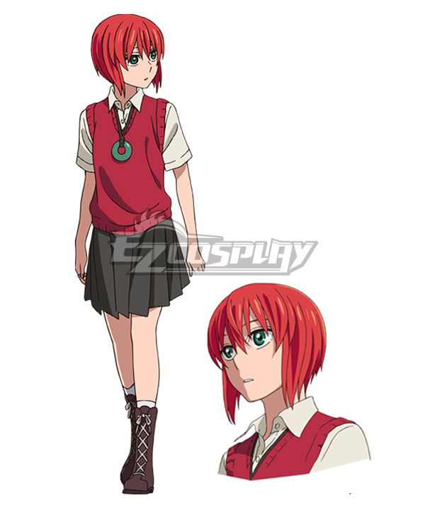 Anime Costumes ETMA001 The Ancient Magus' Bride Mahoutsukai no Yome Chise Hatori Cosplay Costume