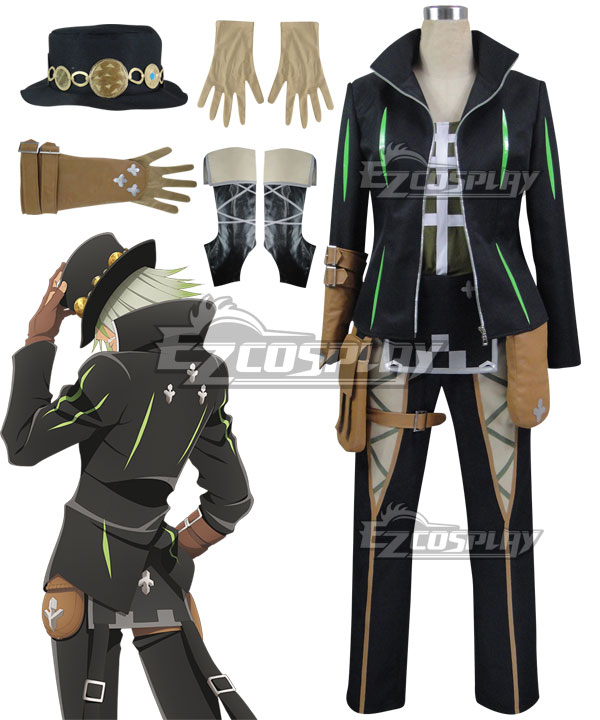 ETOZ007 Tales of Zestiria the X Dezel Cosplay Costume