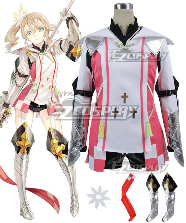 Anime Costumes ETOZ008 Tales of Zestiria the X Alisha Cosplay Costume