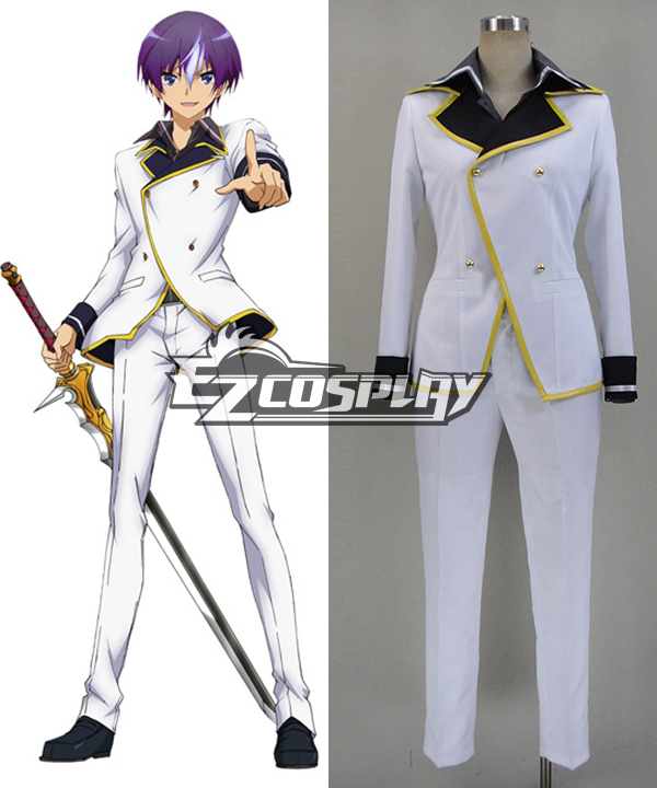 The Swordbringer Comes Back / World Break: Aria Of Curse For A Holy Swordsman Moroha Haimura Cosplay Costume ETSW001