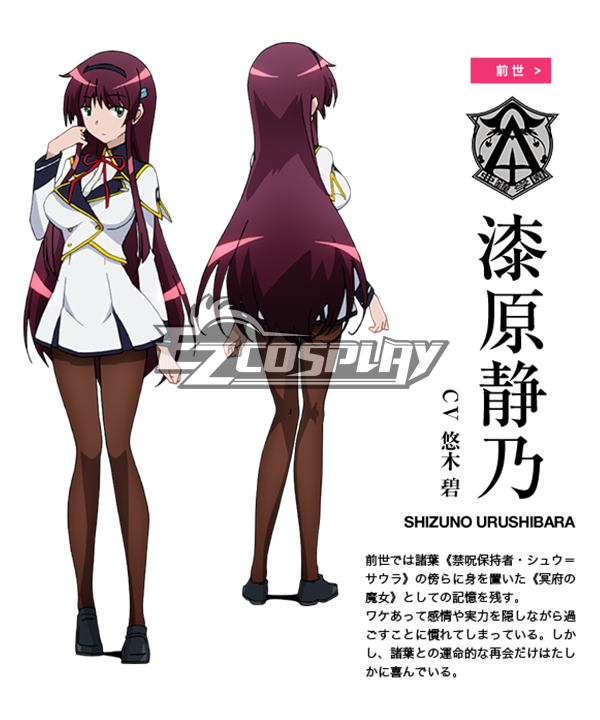 The Swordbringer Comes Back / World Break: Aria Of Curse For A Holy Swordsman Shizuno Urushibara Cosplay Costume None