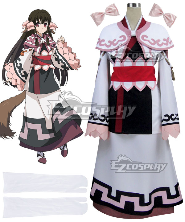 Utawarerumono The False Mask Itsuwari no Kamen Rurutie Cosplay Costume