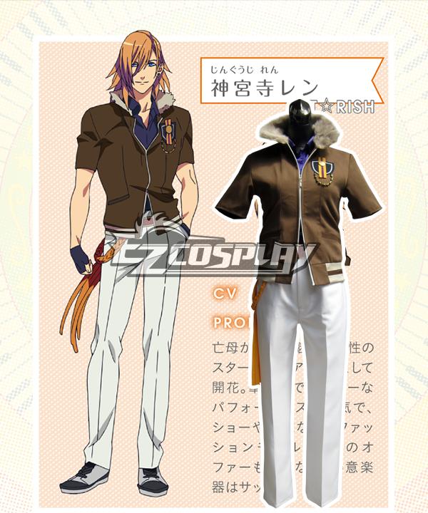 Uta no☆Prince-samaâ™?Maji Love Revolutions Jinguji Ren Cosplay Costume