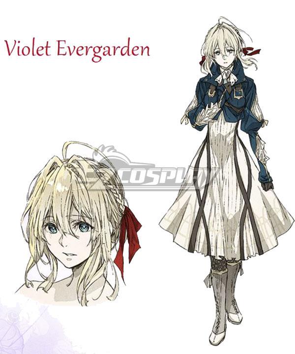 Anime Costumes EVEV001 Violet Evergarden Violet Evergarden Cosplay Costume