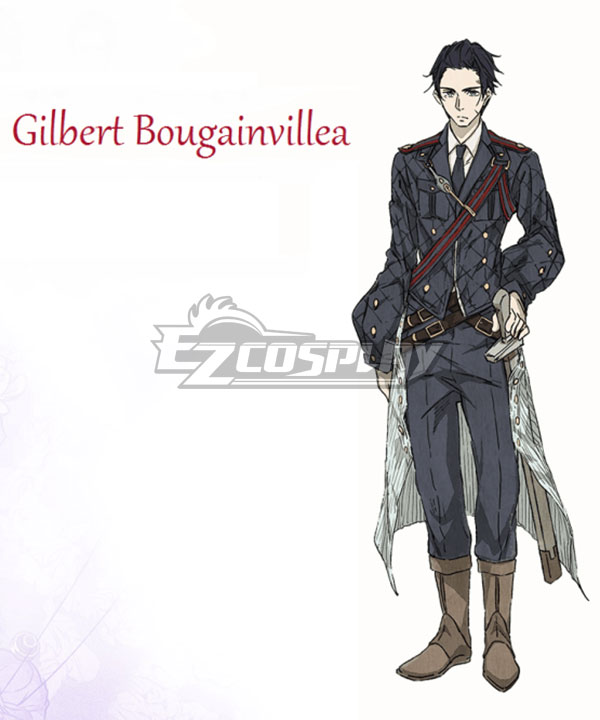 Anime Costumes EVEV003 Violet Evergarden Gilbert Bougainvillea Cosplay Costume