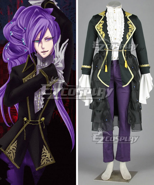 Vocaloid Black Uniform Women's Cosplay Costume