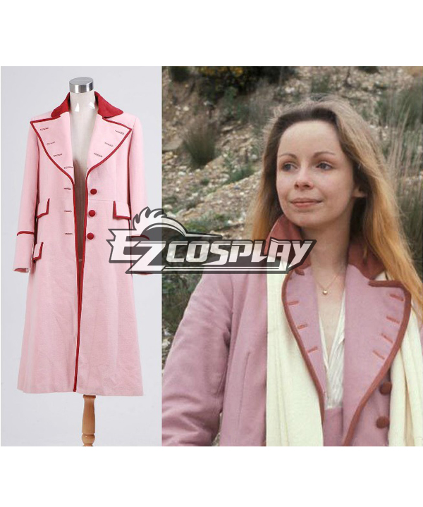 Doctor Who Dr. Long Pink Coat Cosplay Costume