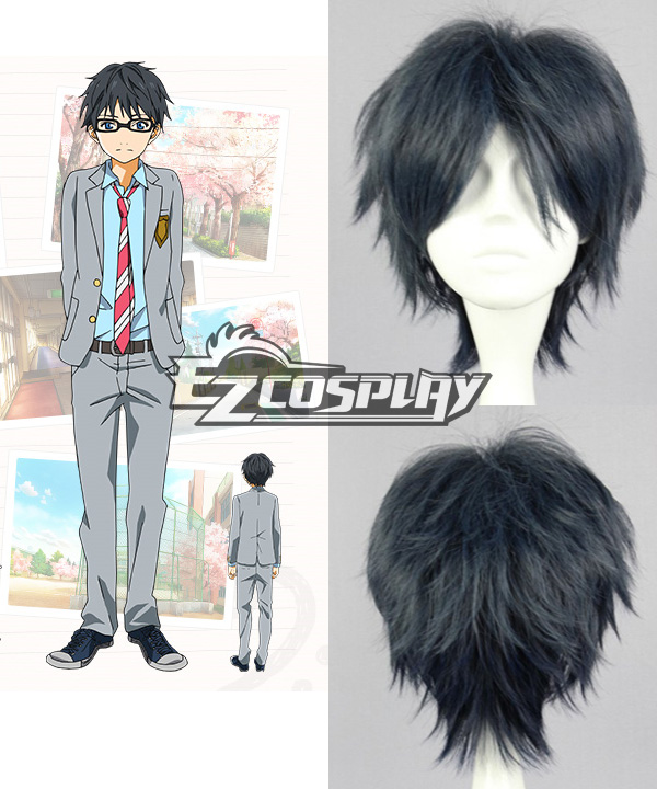 Your Lie in April  Kousei Arima Cosplay Wig