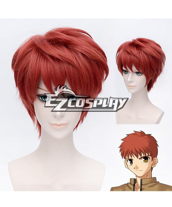 Fate stay night Shirou Emiya Cosplay Wig