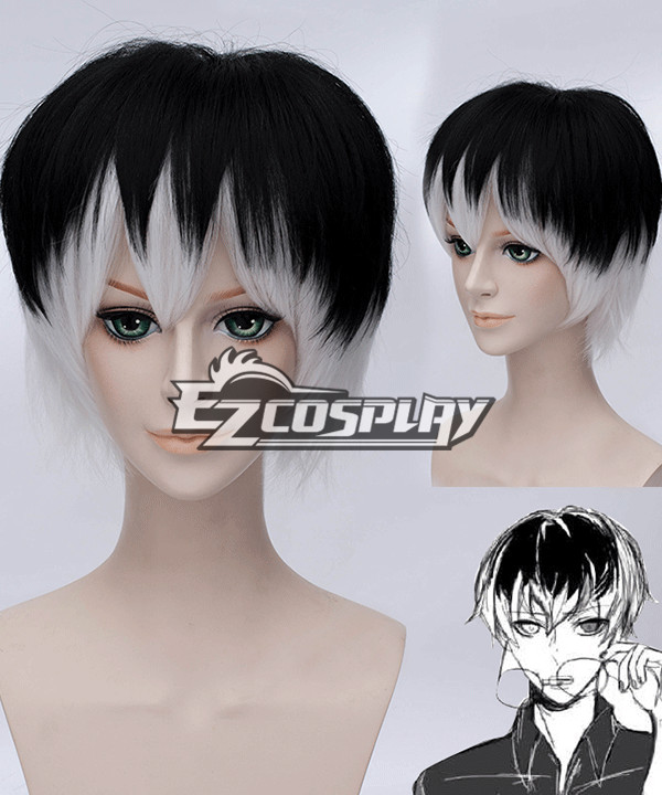 Tokyo Ghoul ��A Ken Kaneki Cosplay Wig None