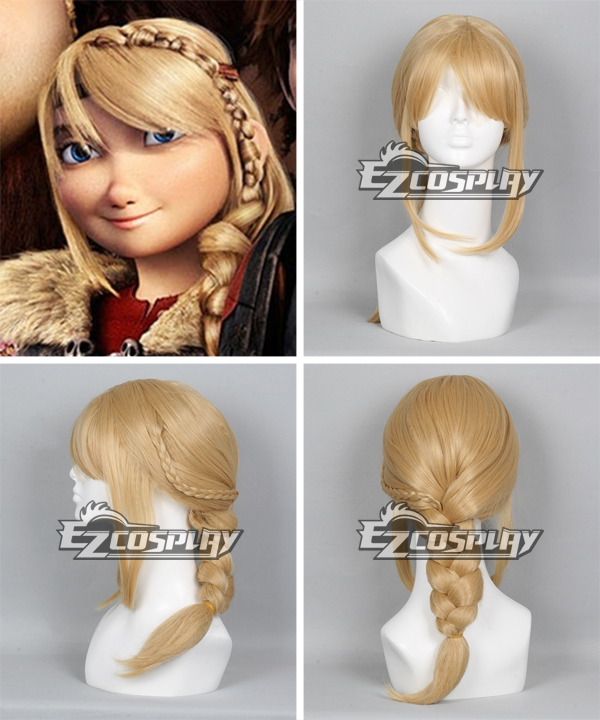 How to train your dragon 2 astrid long braid cosplay wig product details ccuart Image collections