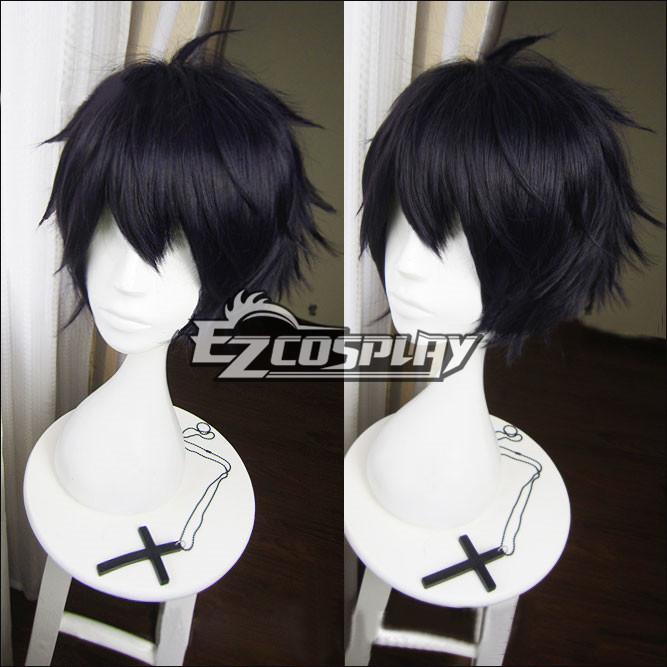 Seraph of the End Owari no Serafu Vampire Reign Yuichiro Hyakuya Yuichiro Amane Short Black Cosplay Wig