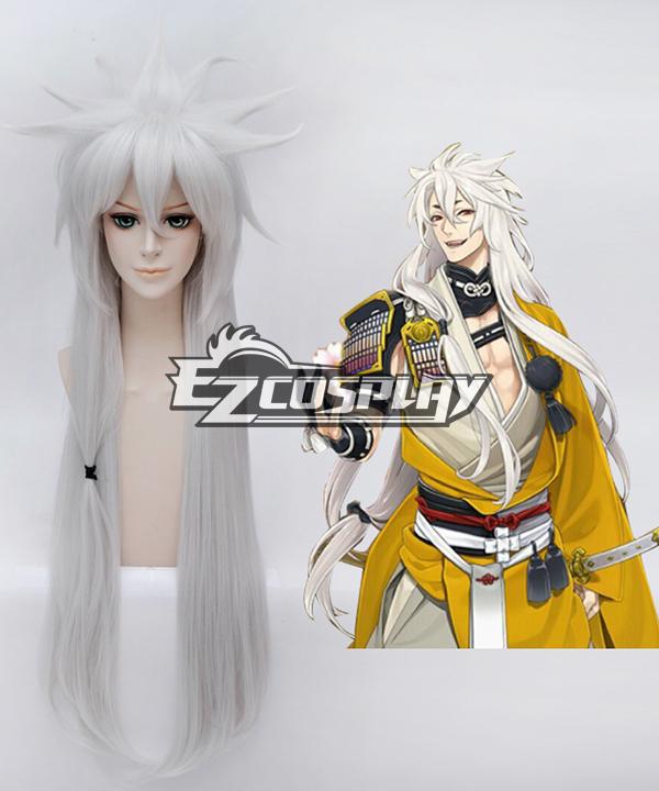 Touken Ranbu Online Kogitsunemaru Silvery Cosplay Wig