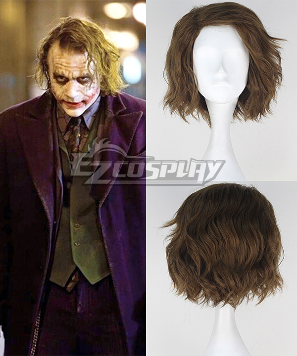 DC Comics Batman The Dark Knight Joker Cosplay Wig None