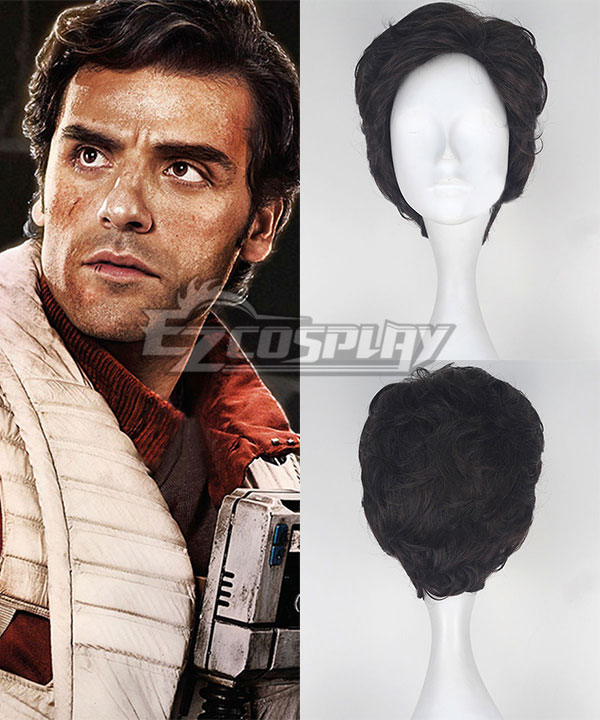 Star Wars The Force Awakens Poe Dameron Cosplay Wig None