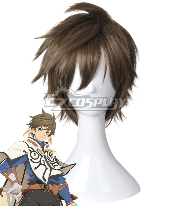 Anime Costumes EWG0957 Tales of Zestiria the X Sorey Brown Cosplay Wig