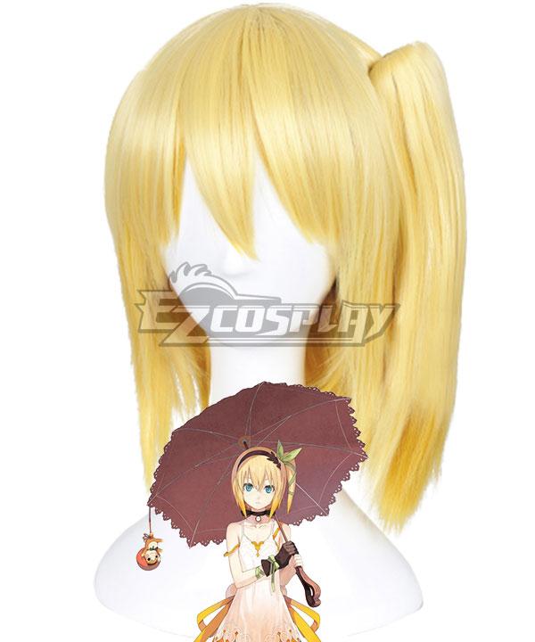 Anime Costumes EWG0958 Tales of Zestiria the X Edna Golden Cosplay Wig