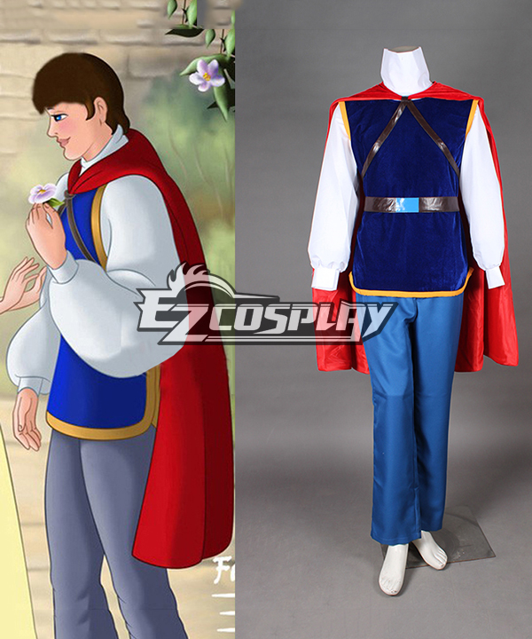 Grimm's Fairy Tales Snow White Prince Charming Cosplay Costume None