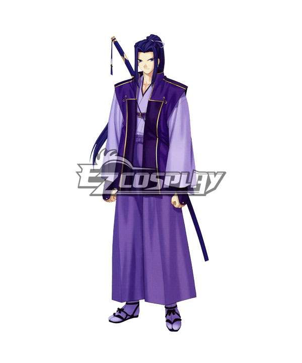 Fate Stay Night Unlimited Blade Works UBW Kojirou Sasaki Assassin New Sword Flat Boots Cosplay Shoes None