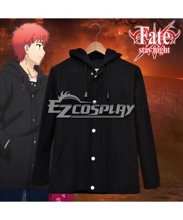 Fate Stay Night Shirou Emiya The Same Paragraph Woolen Coat Windbreaker Jacket Comic Related Product Animation Around Cosplay