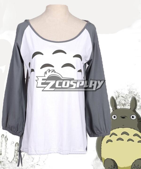 Tonari no Totoro Hayao Miyazaki Ghibli Series Lovely Long Sleeved Hooded Woman Comic Related Product Animation Around Cosplay