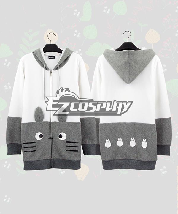 Tonari no Totoro Hayao Miyazaki Ghibli Series Fleece Sweater Long Section Comic Related Product Animation Around Cosplay