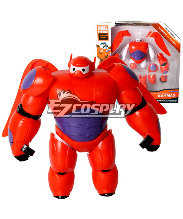 BIG HERO 6 Armor Mars Baymax Marvel Comics Disney Robot Toy Cosplay Animation Around None