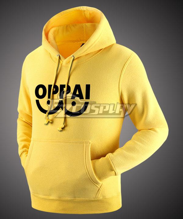 One Punch Man Saitama Caped Baldy Hagemanto Sweatshirts Gray Blue Red White Black Yellow Hoodies Cosplay Costume None