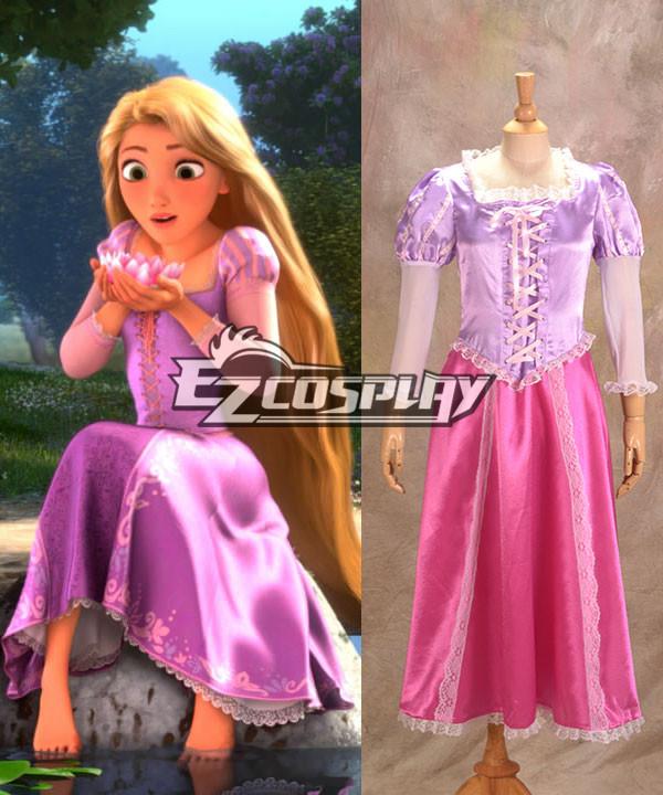 Tangled Rapunzel cosplay Costume