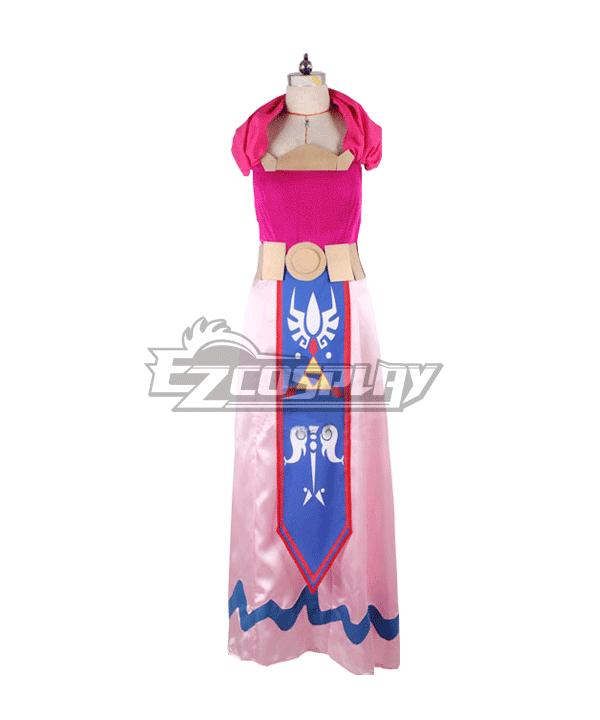 Image of The Legend of Zelda: The Wind Waker Zeruda no Densetsu Kaze no Takuto Princess Zelda Cosplay Costume