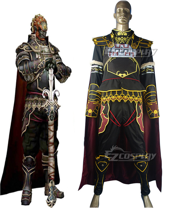 Image of Legend of Zelda Ganondorf Cosplay Costume