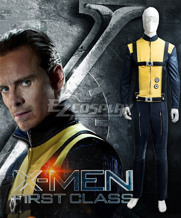 Marvel X men X-Men: First Class Erik Lensherr Magneto Cosplay Costume  None