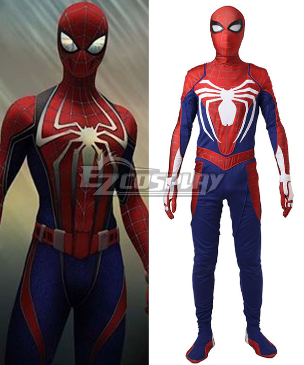 Marvel Spiderman Spiderman PS4 Cosplay Costume None